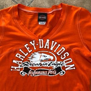 🌺 NWOT Harley Davidson long sleeve top